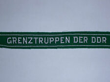 EAST GERMAN BORDER GUARDS CUFF TITLE