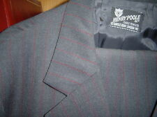 HENRY POOLE Savile Row two piece Suit, custom made 46 R