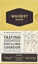 The Kings County Distillery : Whiskey Notes Tasting and Distilling Logbook by...