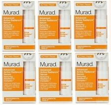 6 pack Murad Advanced Active Radiance Serum Environmental Shield 0.17= 1 fl oz