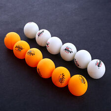 6Pcs 3 stars DHS 40MM Olympic Table Tennis Orange Ping Pong Balls Durable