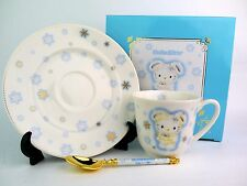 Mint in Box SANRIO HELLO KITTY Tea cup and Saucer  SET From Japan NEW!!