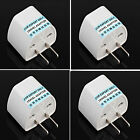 Tour EU UK AU to US USA AC Travel Power Plug Adapter Outlet Converter Universal