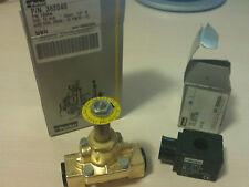 Elettrovalvola Parker x acqua Normalmente chiuse PM133 1/2 24V