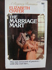 The Marriage Mart by Elizabeth Chater (1983) - Regency