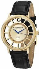 Stuhrling 388S 333531 Men's Classic Winchester Swiss Quartz Gold-Tone Watch