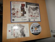 OBSCURE - SONY PS2 PLAYSTATION 2 PAL GAME -  FREE UK POST