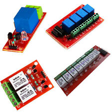 4 Pc's of Relay Interfacing Board Single Relay Board Two Relay Board