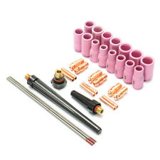 33Pcs Tig Welding Torch Accessories Nozzle Part Kit for WP9