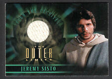 THE OUTER LIMITS SEX CYBORGS & SCI-FI (2003) Costume Card #CC9 JEREMY SISTO