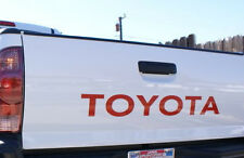 TOYOTA TAILGATE  Vinyl Decal Sticker Emblem Logo Graphic  RED