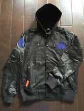 New Rare NIKE JORDAN Leather Precision Varsity DESTROYER Jacket YOTS 577829 $500