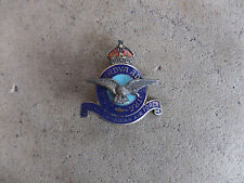 WWII RCAF Royal Canadian Air Force sterling pin badge