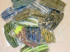 """4"""" Stick Senko Style Mix and Match Assortment 100 count bag bulk bass worm"""
