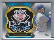 2013 Topps Update Commemorative Pin Matt Kemp 2011 RBI Leader NM Condition