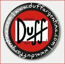 Chapas Pin Cerveza Duff Ansteck Button Pin  Bouton épinglette Lapel Pi