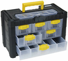 Portable Screw Nail Nuts Bolts Storage Box Organiser Tool Box Button Storage Box