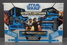 Star Wars The Clone Wars ULTIMATE LIGHTSABER SET Build Your Own LIGHTSABER 2008