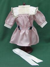 """American Girl 18"""" Retired SAMANTHA ROSE LACE TALENT SHOW DRESS + HAIR BOW REPRO"""
