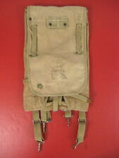WWII US Army M1928 Haversack Pack Khaki Color Complete - Dated 1942- Nice #4
