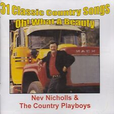 [NEW] CD: NEV NICHOLLS & THE COUNTRY PLAYBOYS: 31 CLASSIC COUNTRY SONGS
