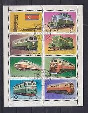 """schöner Zusammendruck Korea """" Lokomotiven """""""