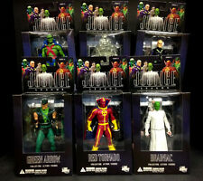 DC DIRECT ALEX ROSS JUSTICE LEAGUE SERIES 5 6 FIGURE SET RED TORNADO BRAINIAC D6