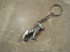 Bulldog Hood Ornament Key Chain