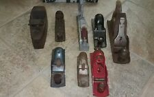 Lot of 8 Vintage Hand Planes various