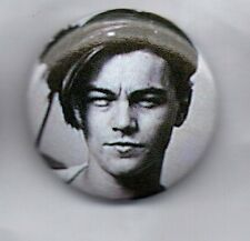 "LEONARDO DICAPRIO - BUTTON BADGE - YOUNG TITANIC DAYS  - INCEPTION 25mm 1""inch"