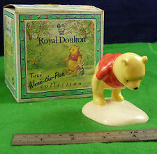 Royal DOULTON le Winnie the pooh collection Winne the Pooh & the Paw marques D002