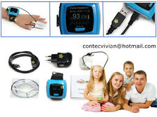 CONTEC FDA CE CMS50F Digital Wrist Finger PulseOximeter Color OLED,SPO2 Oximetry
