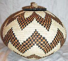 African Zulu Ukhamba Basket new Fair Trade bazu229