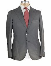 NWT Belvest Dyed Cotton Suit 40 (50) Tailored in Italy (Hermes)