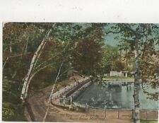 Reservoir & Driveway Mount Royal Montreal Vintage Postcard Canada 516a