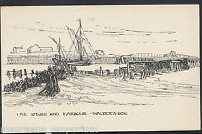 Suffolk Postcard - The Shore and Harbour, Walberswick   X804