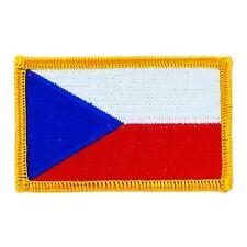 Toppe Toppa PATCH REPUBBLICA CECA Bandiera banderina ricamata termoadesivo