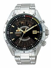 ORIENT Automatic Mens Watch SEU03002BW Black from Japan New