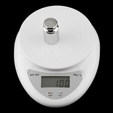 5kg 5000g/1g Digital Kitchen Food Diet Postal Scale Electronic Weight Balance HS