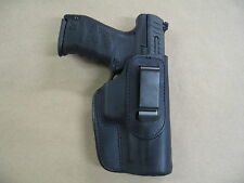 H&K 45, USP 45, MK 23 IWB Leather In Waistband Concealed Carry Holster BLACK RH