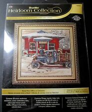 NIP Bucilla Heirloom Collection Cross Stitch Pattern 45964 Rural Post Office