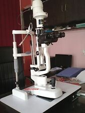 K-77 Slit Lamp Haag Streit Type 2 Step With aluminium base white color  for Sale