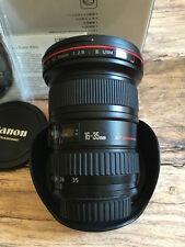 Canon EF 16-35 mm F/2.8 L EF II USM Objektiv HÄNDLER TOP mit OVP