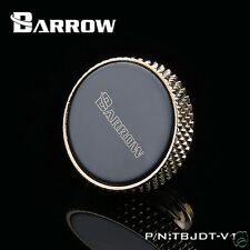 Barrow Water Stopper Plug For Radiator Reservoir Gold/Black Plated G1/4 Thread