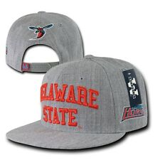 DSU Delaware State University Hornets NCAA Flat Bill Snapback Baseball Hat Cap