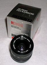 RICOH 35-70MM F/3.4-4.5/MACRO ZOOM LENS- K MOUNT
