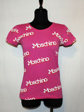 MOSCHINO JEREMY SCOTT BARBIE LOGO TOP BLOUSE SIZE US0 IT36 S/M