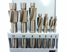 7pc Hss métricas counterbore Set m3-m12