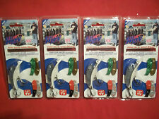 4 - LIL' HUEY COLOR & SCENT FISHING LURES NEW IN PACK  5  LURES IN ONE WHOLESALE