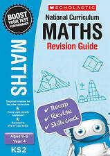 NEW Scholastic MATHS 8-9 (year 4) KS 2 NATIONAL CURRICULUM REVISION GUIDE SATS